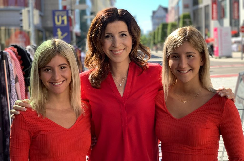 Rita Katharina Biermeier als Verkaufsexpertin bei ZDF-zeit
